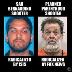 Self Radicalized Terrorists