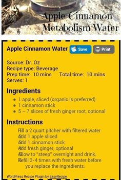 See more here ► https://www.youtube.com/watch?v=__Gi8cvdquw Tags: diets that work for quick weight loss, want to lose weight quick, quick weight loss for teens - Apple cinnamon water. Detox and lose weight. #exercise #diet #workout #fitness #health