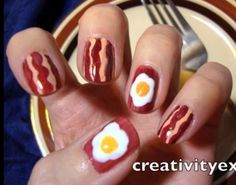 What the...? @John Searles Searles Searles Rieber - Alex may need to do this mani. :)