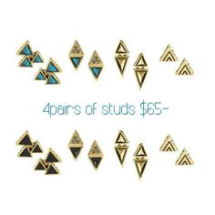 House of Harlow tesselation stud packs are in!! Find yours today @ www.marleyrose.com.au