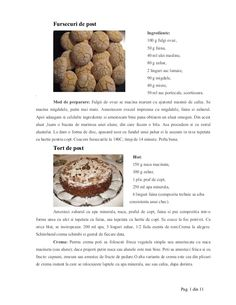 Dulciuri de post by Cristiana Toma via slideshare Goodies, Cooking Recipes, Vegan, Chocolate, Breakfast, Health, Desserts, Food, Sweet Like Candy