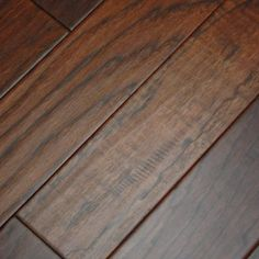 "Hickory Kettle 3/8 x 5"" Hand Scraped Engineered Hardwood Flooring"