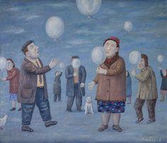 Владимир Любаров.  Флешмоб «Белые шарики», 2012
