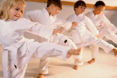 Children need an outlet through which they can participate in a physical sport like martial arts. Left to their own devices, they'll simply grab...#mixedmartialarts