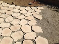 (Laying A Flagstone Patio)