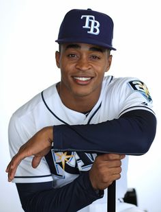 Mallex Smith of the Tampa Bay Rays sits for a portrait during photo day at Charlotte Sports Park on February 2018 in Port Charlotte, Florida. Tampa Bay Rays, Chicago White Sox, Boston Red Sox, Bay Sports, Sport Park, Port Charlotte, Buster Posey, Yadier Molina