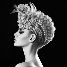 Edgy, mohawk-inspired updos are making a big statement in 2016, especially on…