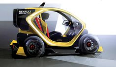 Renault Twizy F1 on Behance