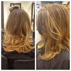 Medium Hair Styles, Short Hair Styles, Long Bob Hairstyles, Haircuts, Cabello Hair, Corte Y Color, Spa, Shiny Hair, Cut And Color