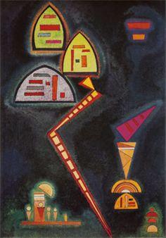 Grun, c.1929 Print by Wassily Kandinsky at Art.com