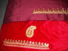Indian textile: Danka embroidery