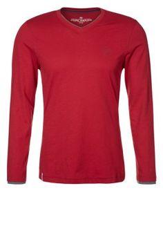 Tom Tailor pitkähihainen paita punaisena tai sinisenä XL