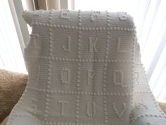 ABC Crochet blanket by Angelasyarnythings on Etsy