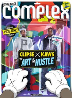 Clipse x KAWS Cover Our October/November Issue! (1 of 3) | Complex