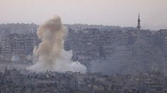Syria conflict France wants Russia on war crimes charges - BBC News