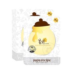 Papa Recipe Bombee Whitening Honey Mask sheets), US Seller! Tumeric Masks, Papa Recipe, Home Remedies For Skin, Skin Lightening Cream, Thing 1, Diy Skin Care, Best Face Products, Good Skin, Honey Masks