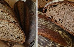 Whole wheat sourdough bread. On Is sourdough bread healthier than yeasted bread.