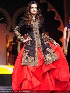 Lengha by Raghavendra Rathore at India Bridal Fashion Week '13