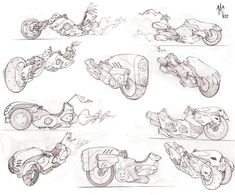 hover bikes concepts by ZurdoM