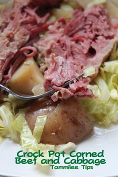 Crock Pot Corned Beef and Cabbage  Perfect for St. Patrick's Day