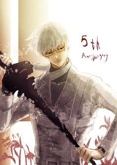 Juro que até hoje não consigo aceitar a morte do Arima ;--; - Tokyo Ghoul