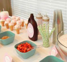 Ice cream party #icecream #party