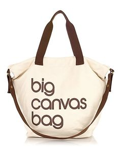Bloomingdale's Big Canvas Bag | Bloomingdale's