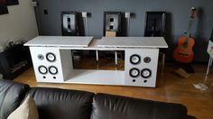 TV Dressoir with speakers