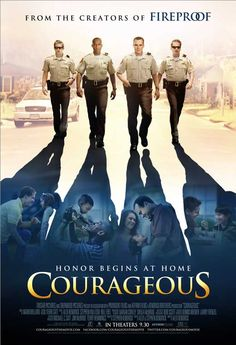 "Courageous... loved the movie! Ben Davies did an awesome job in his role as the ""rookie""."