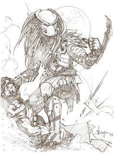 The Predator by druje.deviantart.com on @deviantART