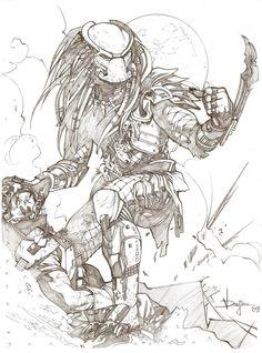 The Predator by druje.deviantart.com on @deviantART