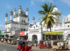 Colombo: on our honeymoon!
