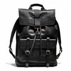 The Bleecker Backpack in Leather from Coach