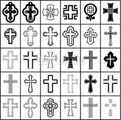 dibujos de cruces religiosas - Buscar con Google