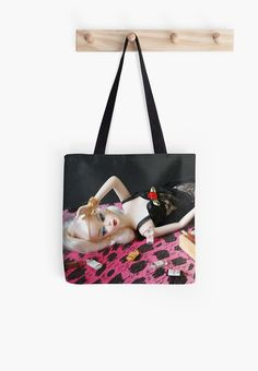 Bad Barbie! Tote bag Beach bag canvas college bag by Shootingnelly