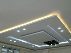 Gypsum Design, Gypsum Ceiling Design, House Ceiling Design, Ceiling Design Living Room, False Ceiling Living Room, Ceiling Light Design, Ceiling Decor, Fall Ceiling Designs Bedroom, Bedroom False Ceiling Design