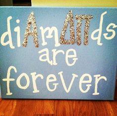 Diamonds are forever. Alpha Delta Pi