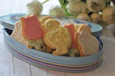 Mennonite Girls Can Cook Easter sugar cookies Brownie Cookies, Cookie Bars, Easter Cookies, Sugar Cookies, Cookie Recipes, Special Occasion, Pudding, Canning, Breakfast
