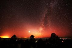 Sunset Milky Way In Colorado High Quality Canvas Print Astronomy Astro Photography  Nature