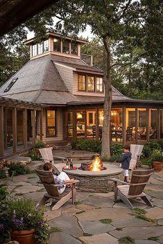 Easy Fire Pit Backyard Ideas (12)