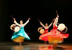 장구춤,공연촬영