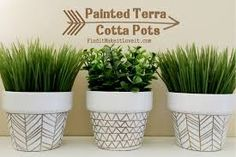 transforming a terracotta pot