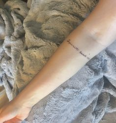 Spirit lead me tattoo inner arm placement