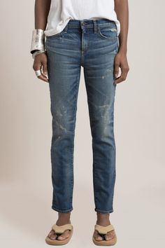 W003 COMAL - W003 SLIM - DENIM - WOMENS | SIMON MILLER