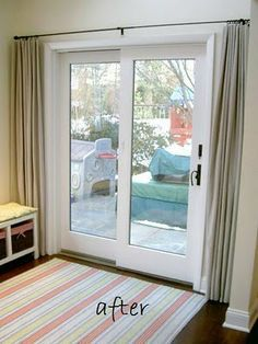 Escape Room Boca Raton >> Banded Bamboo Panel - Family room sliding glass door | HOME is where the heart is... | Pinterest ...