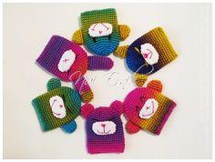 Crochet Pattern Key Cover Monkey sock by Nui Ernik #free #stashbuster