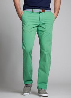 wasabi colored gameday chinos - can't get enough of bonobos!