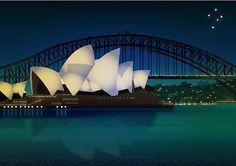 Sydney Harbor, Australia.