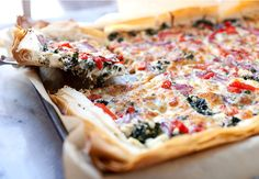 Spanakopizza: It