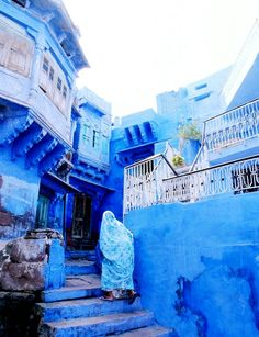 Jodphur, Inida aka the Blue city / Rajasthan / 4 hr driving from Udaipur Jodhpur, Oh The Places You'll Go, Places To Visit, Beautiful World, Beautiful Places, Santorini Grecia, Blue City, Future Travel, India Travel